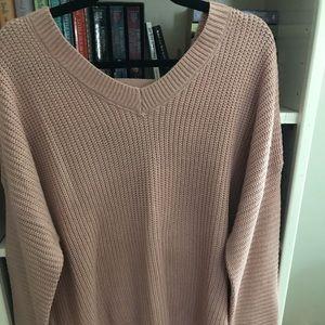 Sweaters - Blush pink sweater